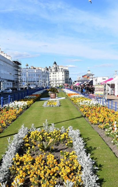 English Language Homestays location Eastbourne