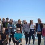English Language Homestays Summer school students in group