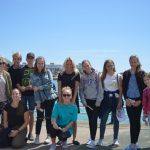 English Language Homestays, Summer school students at Shoreham by sea