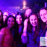 Summer school English Language Homestays students in International student disco