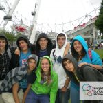 Summer school English Language Homestays student in London Eye
