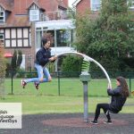 Summer school English Language Homestays student in the park
