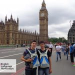 Summer school English Language Homestays student in London