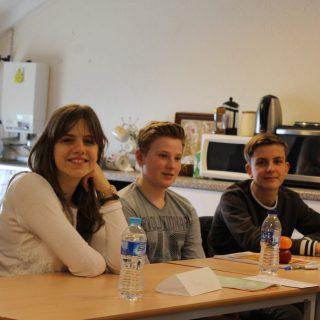 Studenti della Summer School in classe