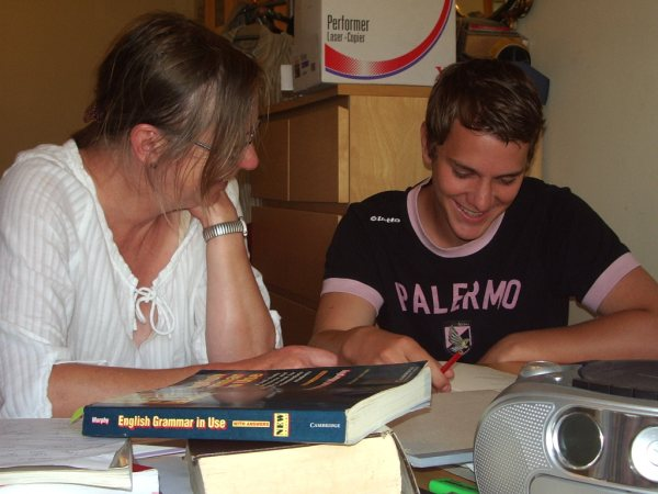 Homestay English teaching for students