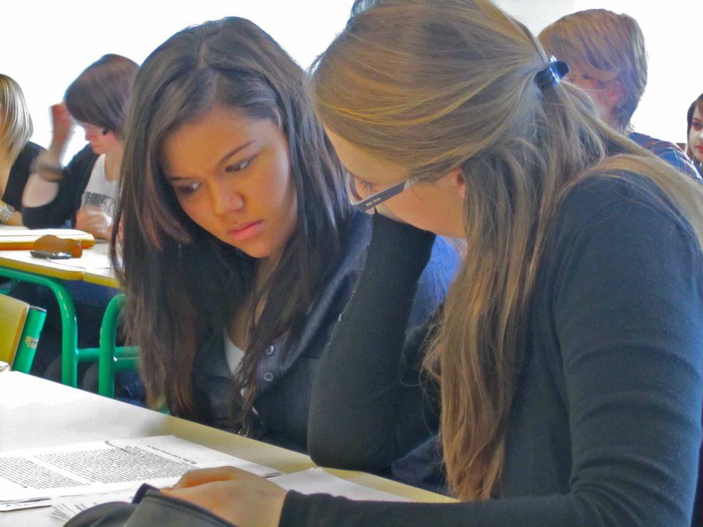Cómo enseñar a estudiantes de inglés francés en el Reino Unido