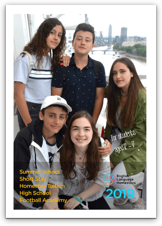 Full English Language Homestays Brochure-2018, English Brochure
