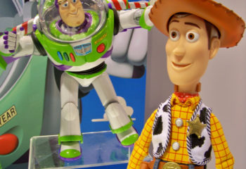 toy story characters - learn english with movies