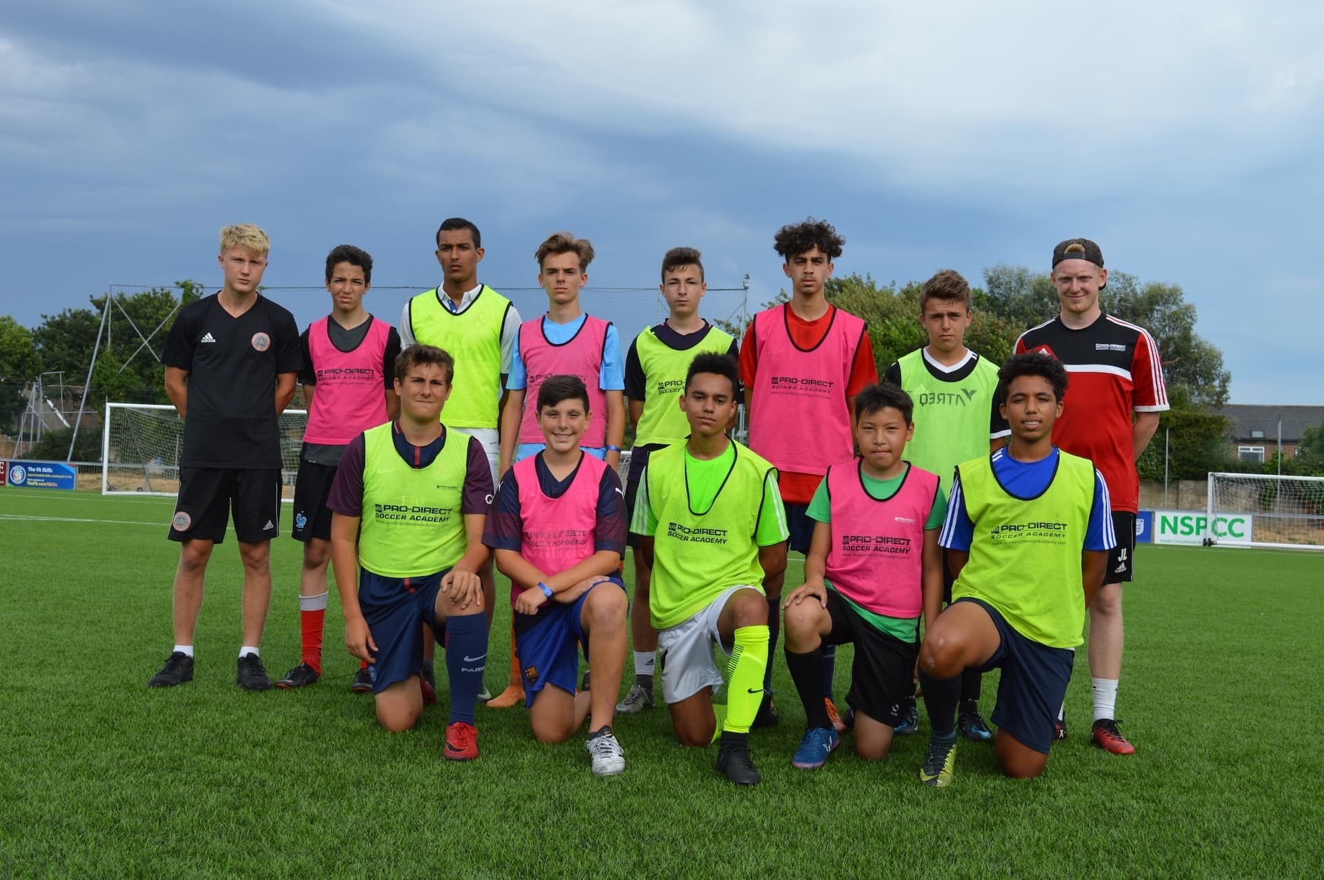 Football Academy English Summer school- English for young learners