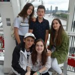 English Summer School Students at London Eye