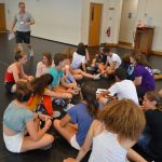 Practice Play, Students in London Shakespeare Globe- English for young learners