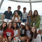 English Summer School Students in London Eye - English for young learners
