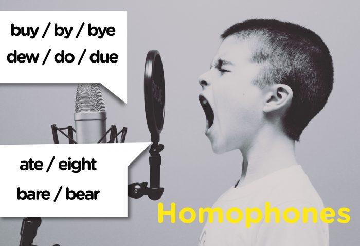 Homófonos: las palabras más confusas del inglés