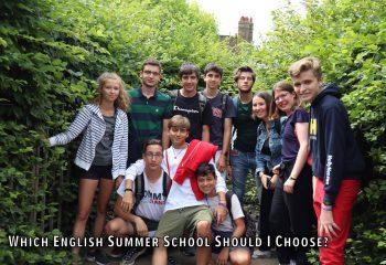 Which English Summer School Should I Choose?