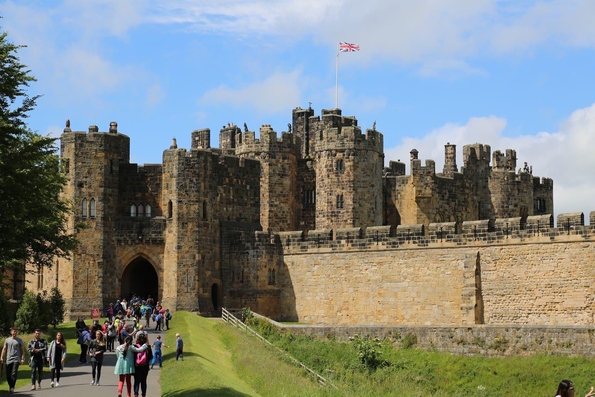 Castello di Alnwick - Hogwarts